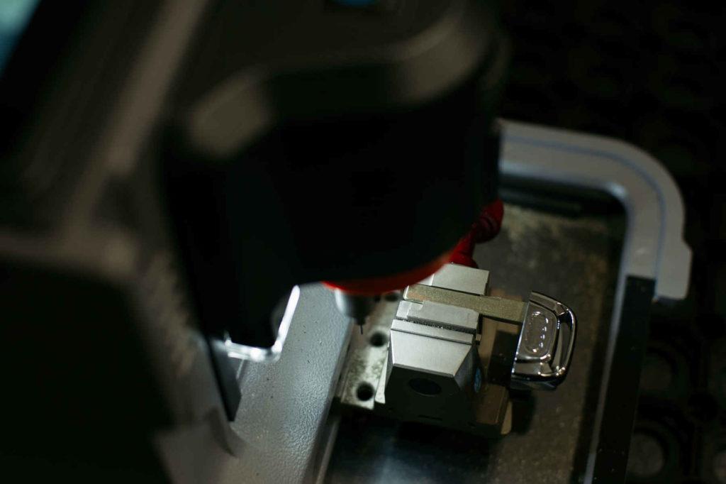 Autoschlüssel-Fräse - Detail